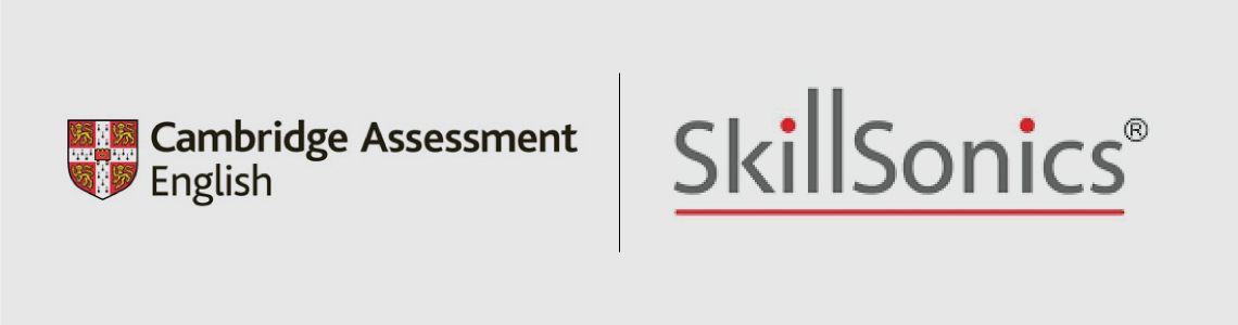 Alpha Group of Institutions Industry and Academic partners are Cambridge Assessment English and SkillSonics