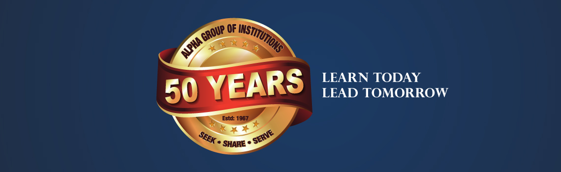 20 Years of Excellence in Education - Alpha arts and science college chennai